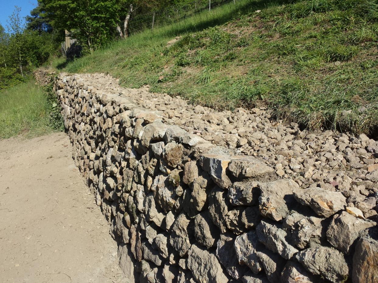 Mauerbau Mauern in Heidelberg