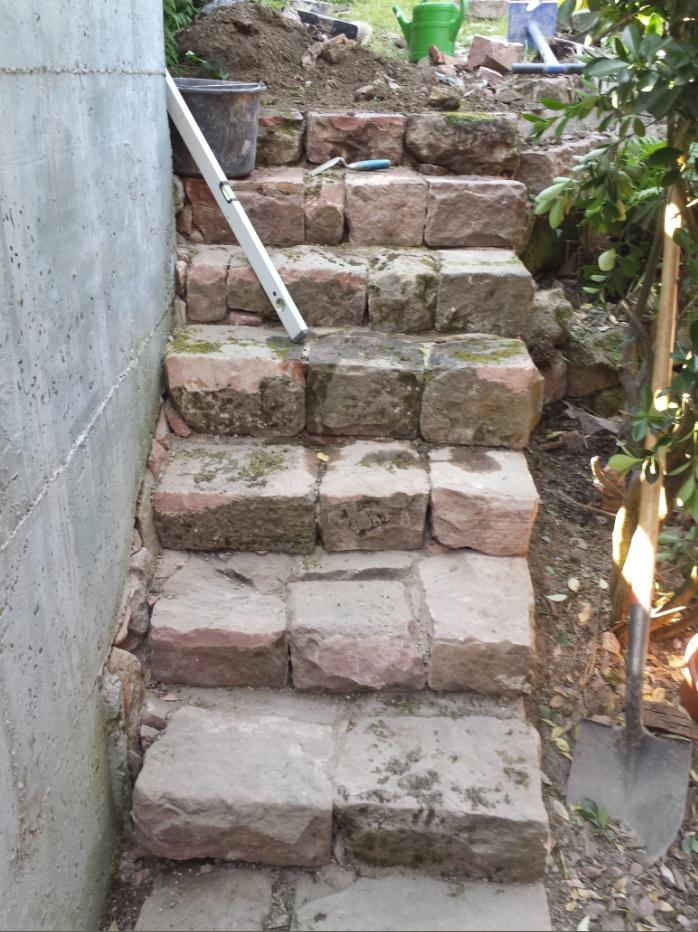 Sandstein Treppe Heidelberg