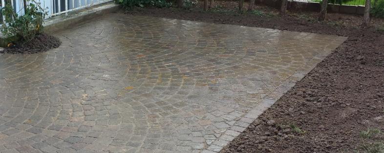 Pflastern Terrassengestaltung Pflasterarbeiten und Wegebau in Heidelberg Schwetzingen